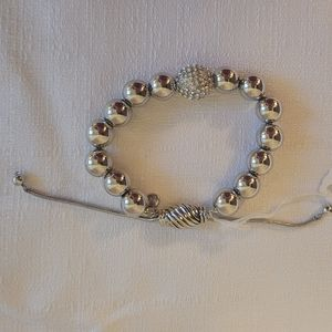 Just Jewelry Having a Ball Adjustable Bracelet